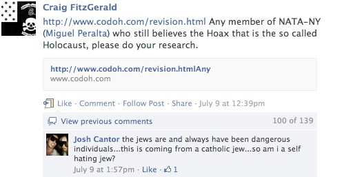 NATA and Holocaust Denial