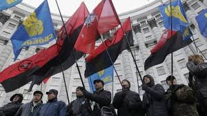 Ukraine's fascists steal our colors
